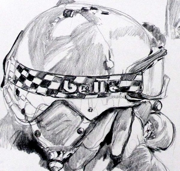 Helmet, Goggles and Gloves